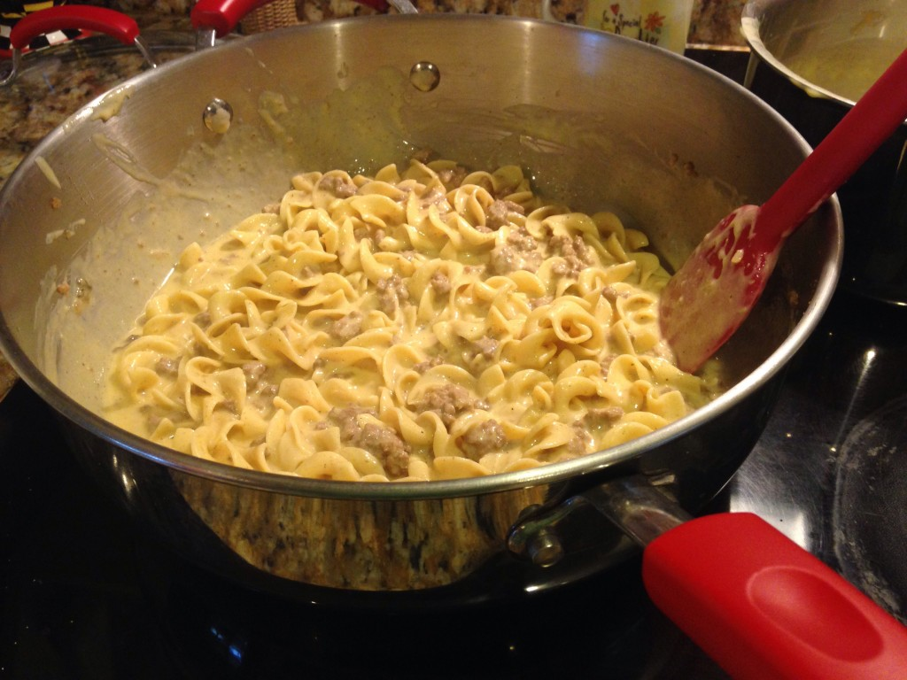 Homemade Cheesy Noodle Helper