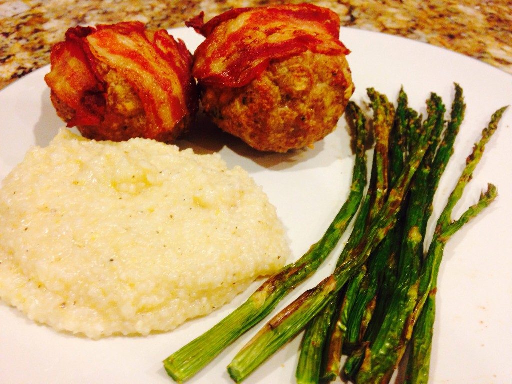 Bacon Wrapped Turkey Meatloaf