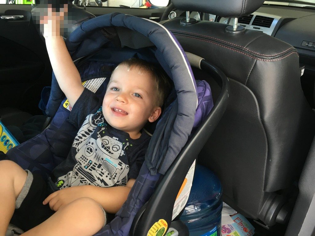 kid friendly road rage driving for new dads