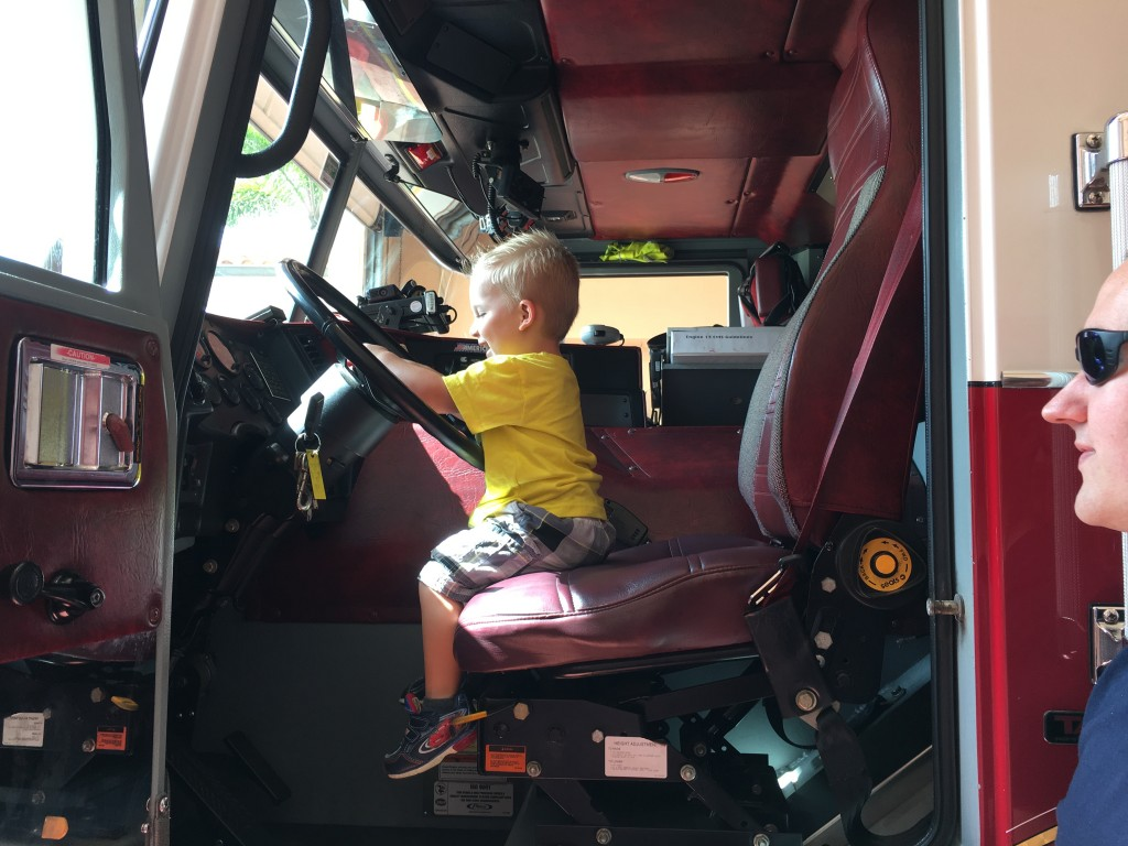 Bring the Kids to the Local Fire Station