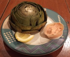 Fresh Steamed Artichoke