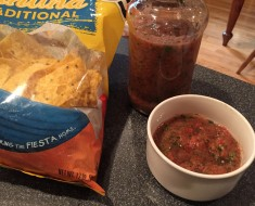 Chips and Salsa With secret ingredients
