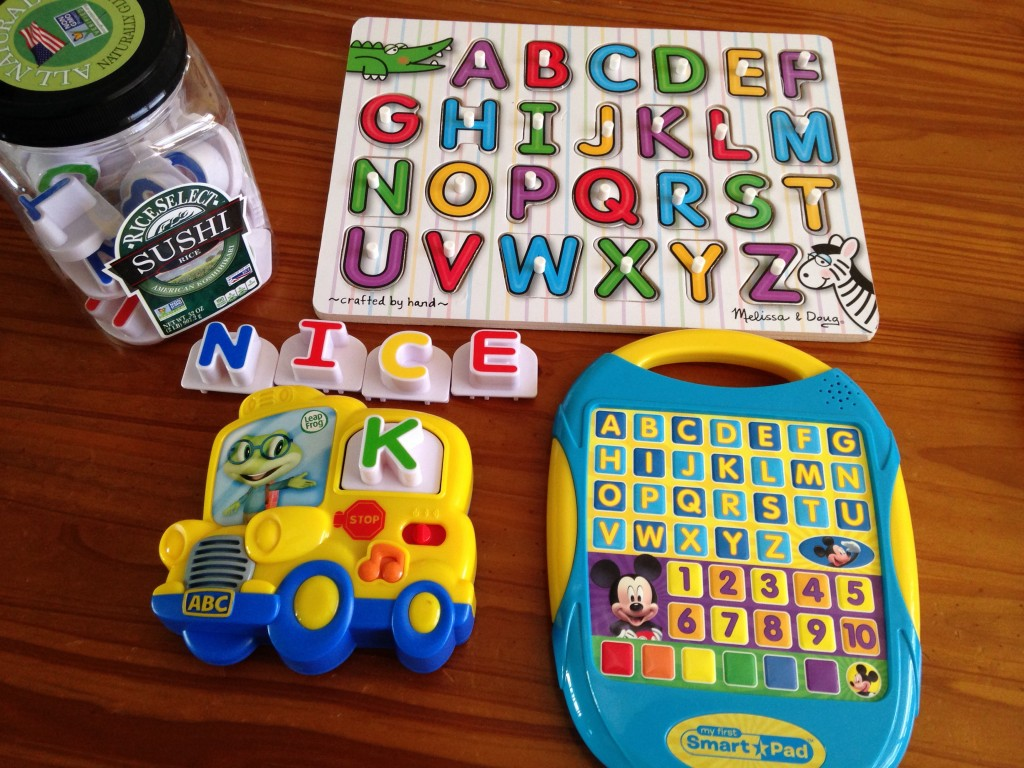 ways to practice the alphabet