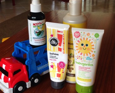 Naturally Awesome Products for babies and toddlers