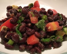 Black Bean Tomato Salad