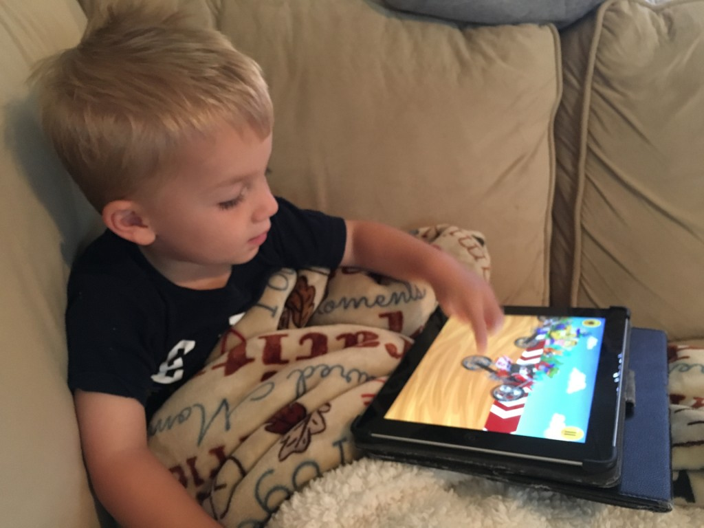 Toddler Ipad Time