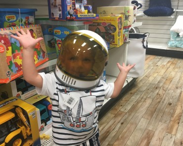 Ollie the Toddler Astronaut