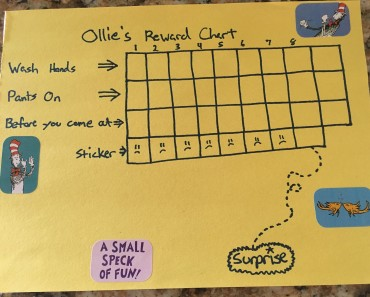 Reward Charts for Kids Entitle Me Not