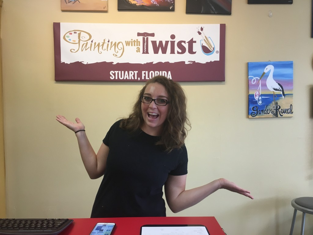 Painting with a Twist is a Blast for Parties