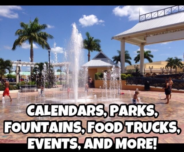 Martin and St. Lucie County parks, events, calendars, fountains, and more