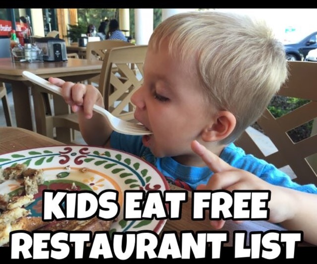 Kids Eat Free Restaurant List for Martin and St. Lucie County