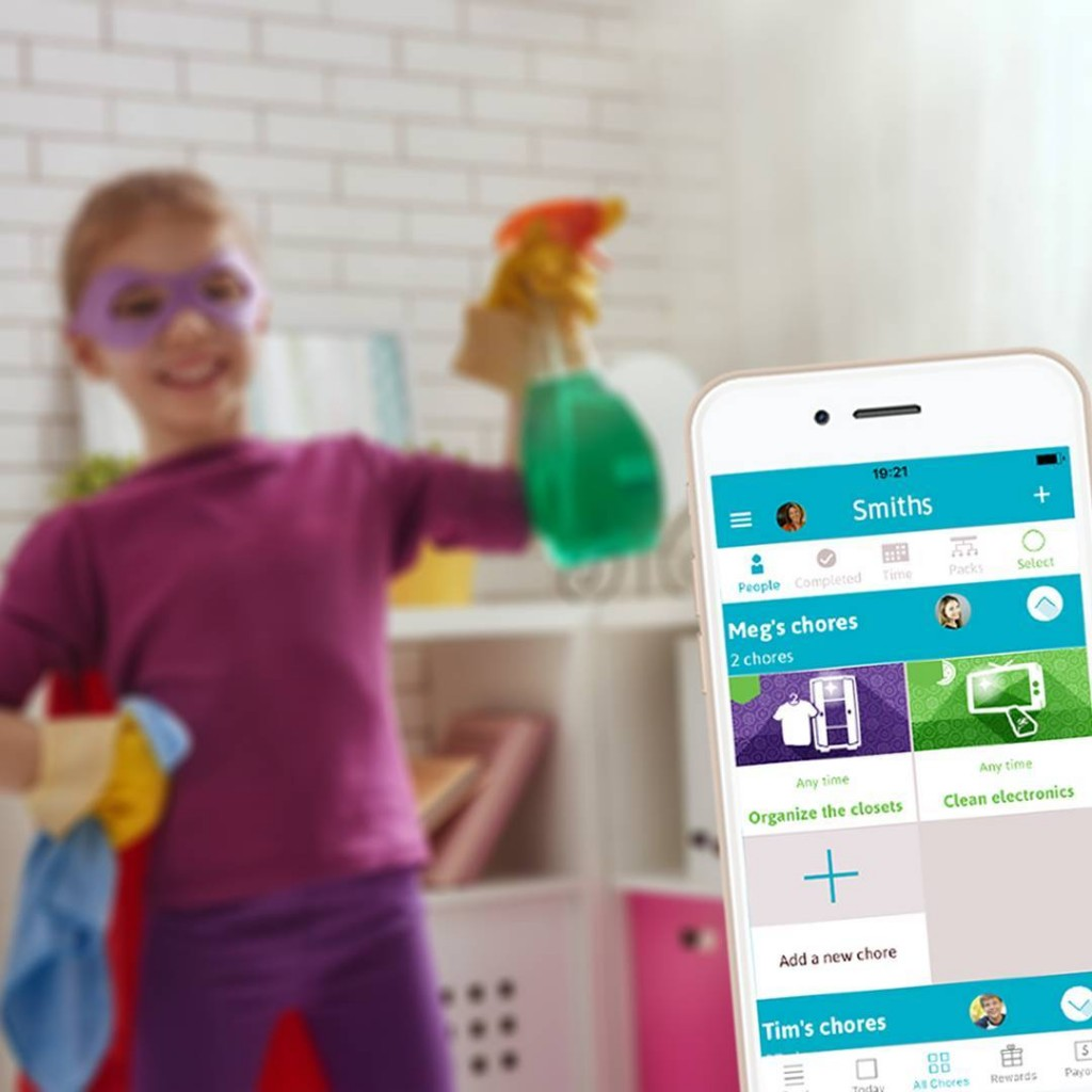 Homey App to help with chores
