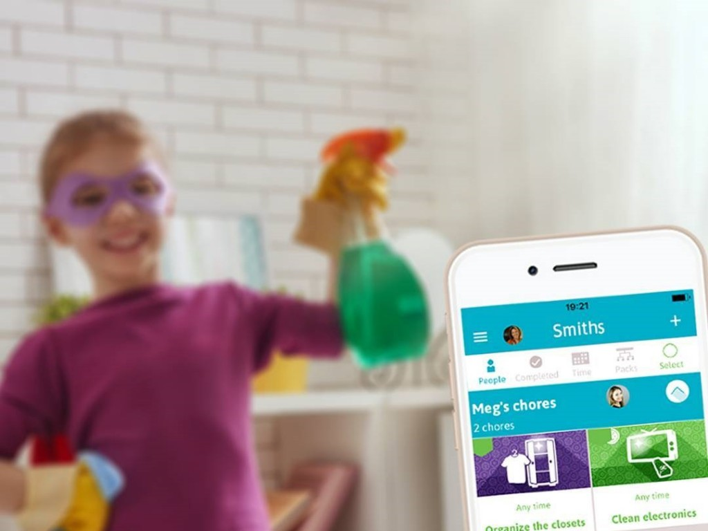 Smart Phone App From Homey Helps Parents Teach Hard Work Ethic and Financial Lessons