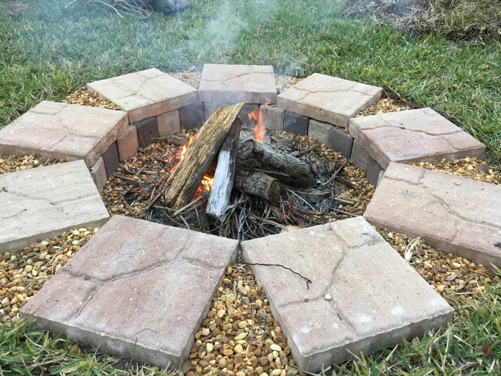 How to Build a Fire Pit With Your Family