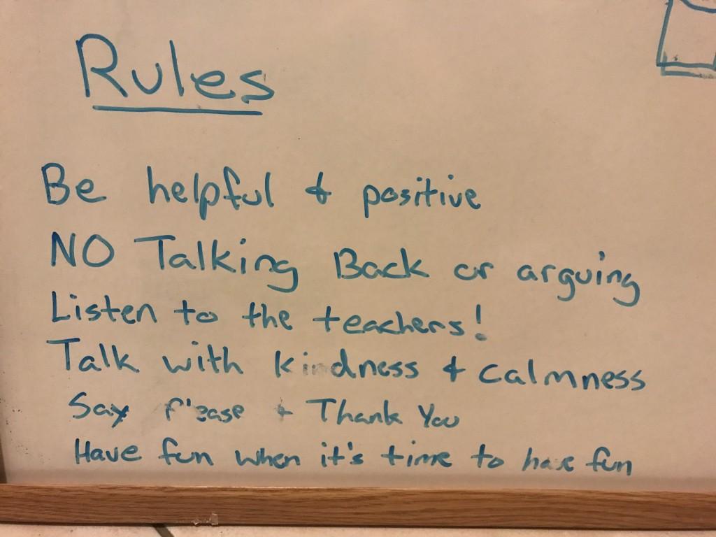 Treasure Coast School Rules
